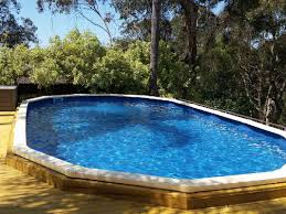 in ground swimming pool. Feature One In Ground Swimming Pool L