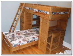 wood bunk bed with desk. Perfect With Decorating Engaging Wood Bunk Bed With Desk 10 Light Wooden Side Wood Bunk  Bed With Desk And K