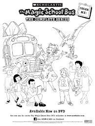 Small Picture Magic School Bus coloring pages Free Printable Magic School Bus