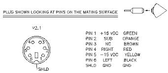 klipsch promedia v2 1 amplifier repair 2 1 din plug wiring diagram