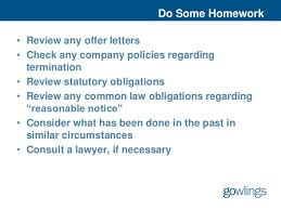 Tune Up Your Termination Letter And Release