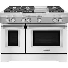 kitchenaid 6 3 cu ft self cleaning freestanding double oven dual fuel convection