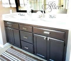 bathroom cabinet redo. Wonderful Bathroom How Do You Paint Bathroom Cabinets Cabinet Painting On Redo S