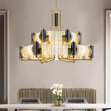 black gold chandelier a508