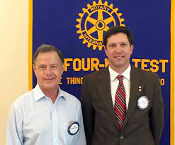Ken Booker & Jim Almas inducted into the Rotary Club of North Jackson    Rotary Club of North Jackson