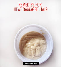 hair is made up of the same protein as our fingernails keratin just as a fingernail can chip and hair can easily be damaged heat damage to hair is