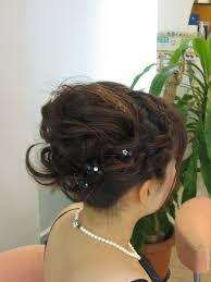 愛媛県で結婚式お呼ばれヘアアップ スズラン美容室
