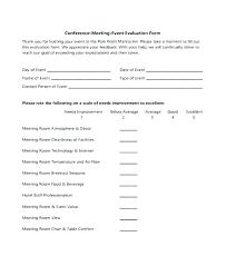 Event Feedback Survey Template
