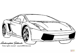 Small Picture Lamborghini Gallardo coloring page Free Printable Coloring Pages