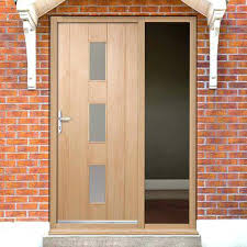 front doors with glass panels front doors with side panels residence hardwood glass and front doors