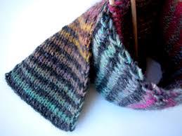 Striped Scarf Knitting Pattern New Decorating Design