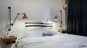 HaokHome ZZ03 Vinyl Faux White Brick Wallpaper For Living Room White Brick Wall Living Room