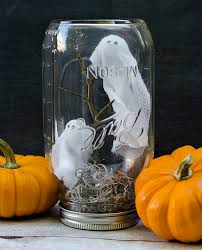 office halloween decorations scary. A DIY Ghost In Jar Makes Creepy-cute Paperweight. Halloween Office DecorationsFun Decorations Scary