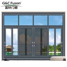 high quality double glass china s suppliers aluminium sliding window with wooden color with grill