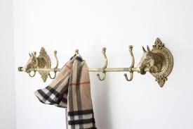 Antique Brass Horse Head Coat Rack Inspiration Vintage Brass Horse Head Coat Rack For The Home Pinterest