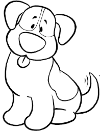 Small Picture Cute Dog Coloring Pages Free Printable Dog Coloring Pages For Kids