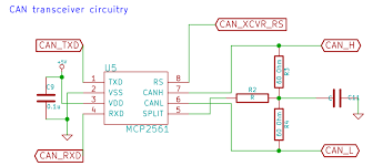 project logs • can obd2 • hackaday io of the can bus but it is not there are already two termination ends to the can bus in the honda civic s circuitry the datasheet for the mcp2561