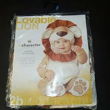 Lovable Lion Infant Costume