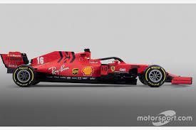 Vergleich Formel 1 Autos 2020 Vs 2019 Ferrari