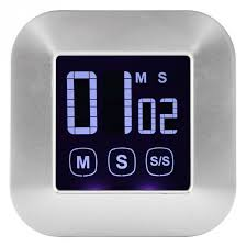 1 pc <b>Large LED Display</b> Kitchen Timer Electronic Touch Screen ...