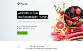 Blog And Recipe Ready Responsive Free Bootstrap Food Blogging Template