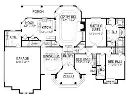2000 square foot house plans one story 4 bedroom 1 sq ft single kerala simple two