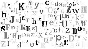 ランダムな文字英語アルファベット ホワイト バック グラウンド デザイン