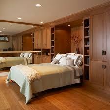 Mirror Cupboards Bedroom Noticeable Dark Brown Bedroom Wall Cabinet With Mirror Aside
