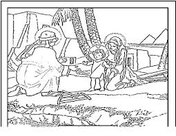 Nativity Coloring Pages Printable Spikedsweetteacom
