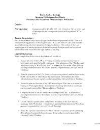 Lvn Resume Template Sample Job Sa Saneme