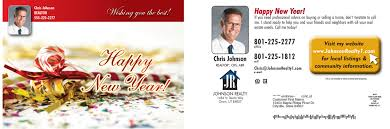 new year real estate flyers how do monthly postcards for realtors increase business bobs