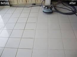 tile grout before after