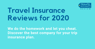 travel insurance reviews for 2020