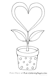 Printable Flowers Coloring Pages Hippie Flower Coloring Pages ...