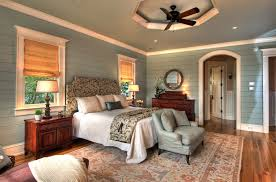 Horizontal Wood Paneling Bedroom Traditional With Round Mirror Wood Floor