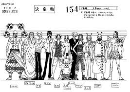 One Piece Height Chart One Piece Of Fullmetal Heart Skypiea Height Chart