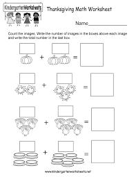 20. kindergarten thanksgiving math worksheet printable, thanksgiving ...