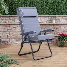 recliner chair charcoal frame