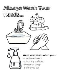 *handy handouts® are for classroom and personal use only. Wash Your Hands Coloring Worksheets Teaching Resources Tpt