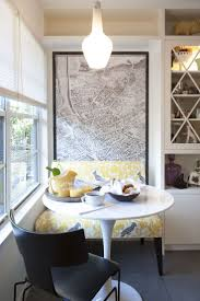 small breakfast nook (modern kitchen by TAS Construction via houzz)