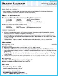 Resume For Aviation Job Free Resume Example And Writing Download