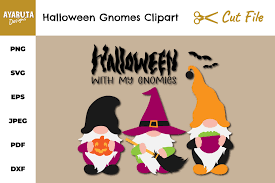 North pole christmas gnome and gnome poem story: Halloween Gnomes Svg Clipart Halloween With My Gnomies Png 922962 Illustrations Design Bundles
