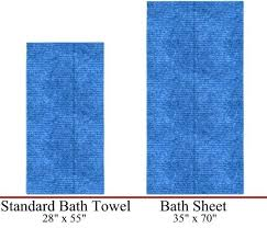 average bath towel size sheet e standard60