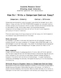 compare and contrast essay for college compare and contrast essay of high school and college homework