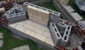 how to build an outdoor fireplace with cinder blocks cafe seoul block fireplaces designs 14