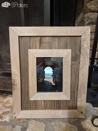 highlight your photos pallet wood picture frame