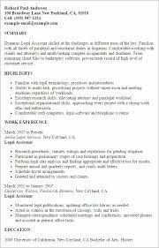 Career Focus On Resumes