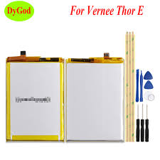 DyGod <b>5020mAh</b> Battery MTK6753 For <b>Vernee Thor E</b> Battery High ...