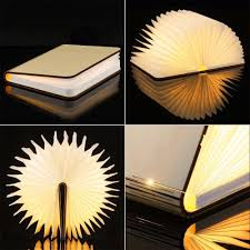 creative led lighting. LIILESY LED Lights Creative Book Shape Reading Light Led Lighting