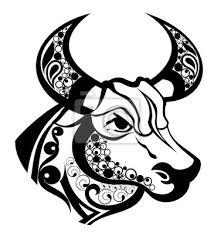 Znamení Zvěrokruhu Taurustattoo Design Fototapeta Fototapety
